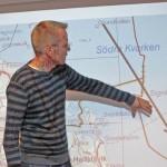 Fredrik Bondestam pratade fåglarnas sträckleder i Singö skärgård