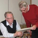 Lennart Larsson tackades av för sitt arbete i styrelsen